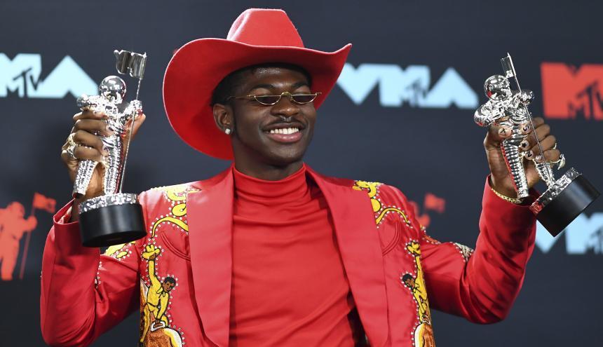 El rapero recientemente ganó dos premios MTV.