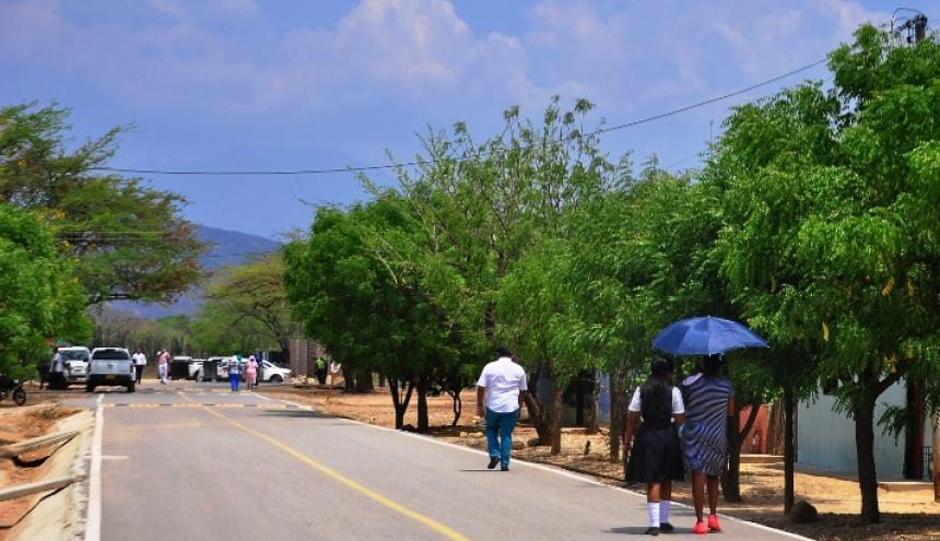 Guacoche, corregimiento al norte de Valledupar, fue víctima de la arremetida paramilitar.
