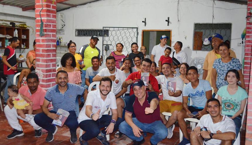 Radi y Baute en Las Nieves.