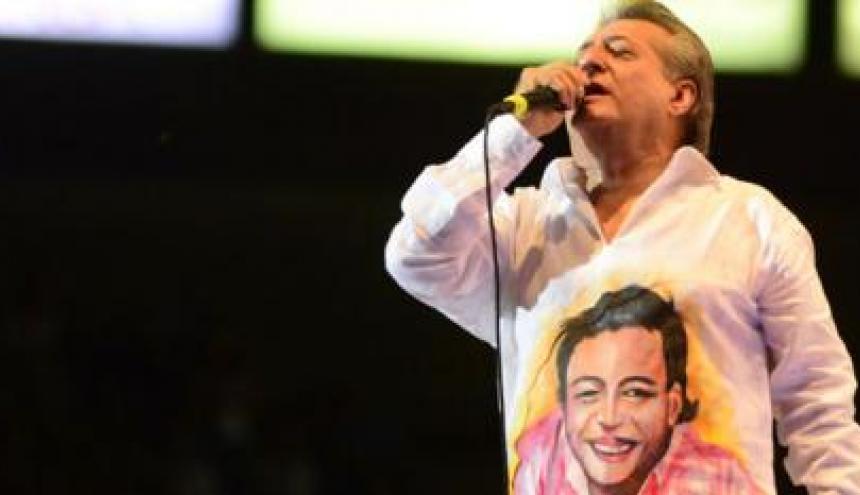El cantante vallenato Jorge Oñate, conocido como el 'Jilguero de América'.
