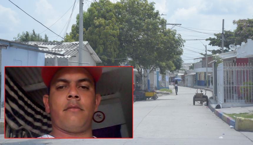 En este sector del barrio Rebolo ocurrió el crimen.