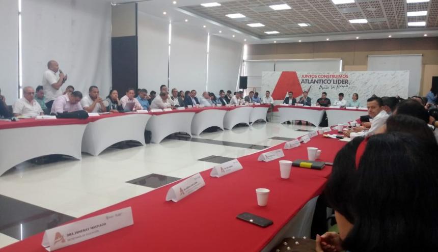 Vista del Comité de Seguimiento Electoral que se adelantó en la Gobernación.