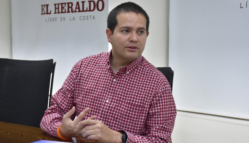 El gerente de la Banca de las Oportunidades, Freddy Castro.