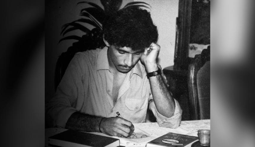 El periodista Guzmán Quintero Torres asesinado el 16 de septiembre de 1999 en Valledupar.