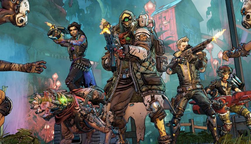 Los cuatro nuevos héroes de 'Borderlands 3' deben volver a salvar el Mundo.