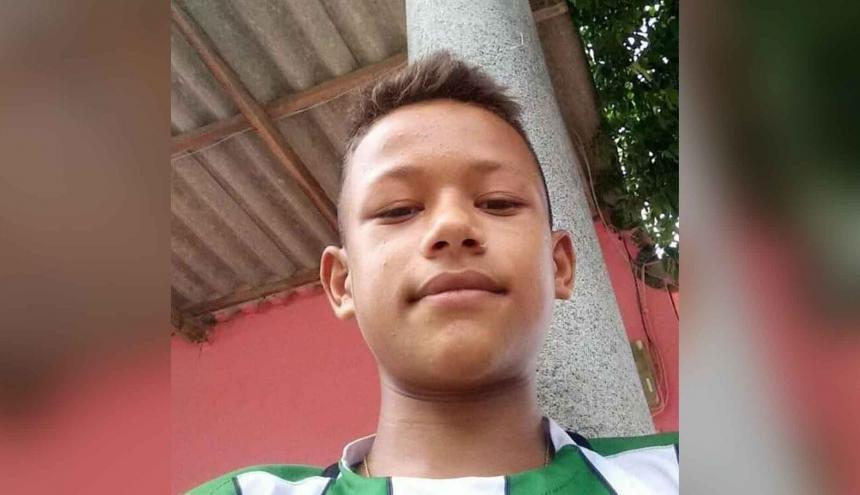 Jean Carlos Ballesteros Altamiranda, de 16 años, desaparecido.