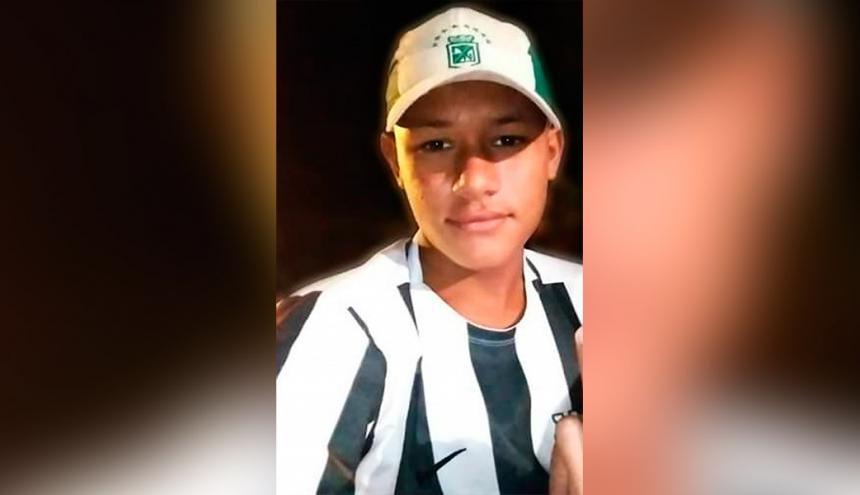 Jean Carlos Ballesteros Altamiranda, conocido como 'el Jhonky', de 16 años.