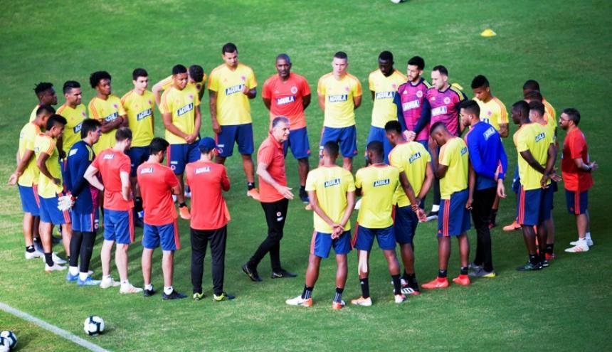 El portugués Carlos Queiroz, entrenador de la Selección Colombia.
