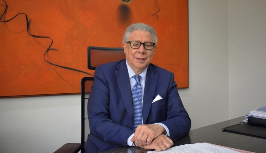 El presidente de la BMC, Rafael Mejía.