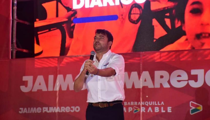 Jaime Pumarejo, candidato a la Alcaldía de B/quilla.