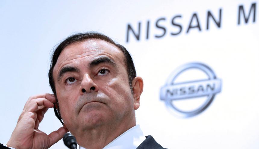 Carlos Ghosn, exCEO de Nissan.