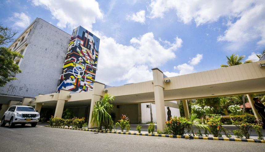 Sede de alta complejidad del Hospital Universitario Cari ESE.