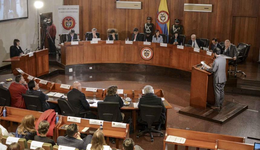 La Corte Constitucional revisó el caso y tomó una decisión sobre la demanda de la Defensoría.