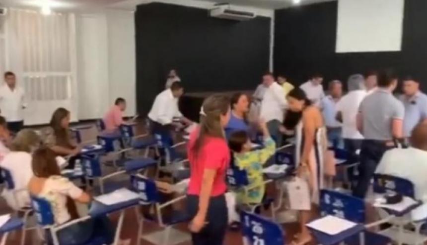 Durante prueba del concurso de méritos a personero.