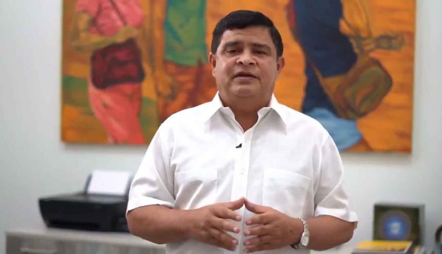 Rafael Lafont, secretario de Obras Públicas del Distrito de Barranquilla.