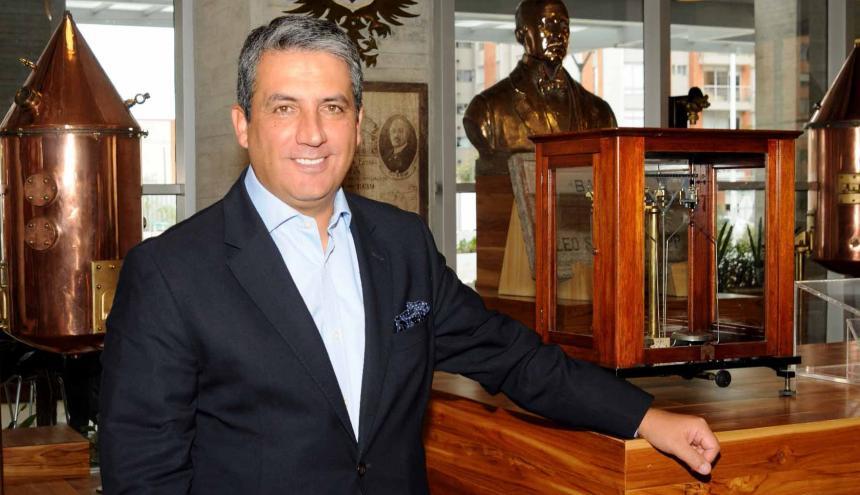 Fernando Jaramillo, vicepresidente de Asuntos Corporativos de Bavaria