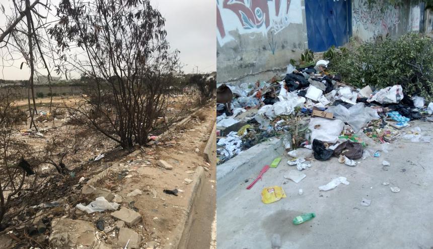 El puente 7 de abril y la avenida circunvalar se han convertido en vertederos de basuras.