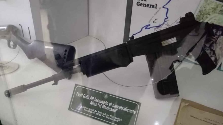 El arma que tenía Gacha el día que lo mataron