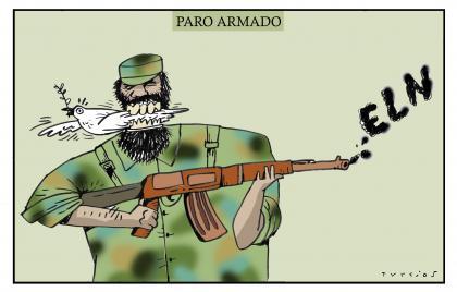 Caricatura de El Mundo de Turcios para el domingo 16 de febrero de 2020.