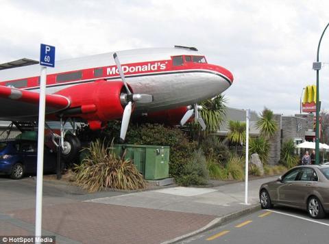 Resultado de imagen para avion mcdonald nueva zelanda