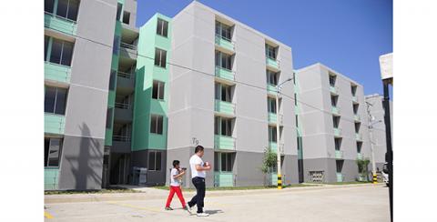 Así se ven los bloques de apartamentos de la Urbanización Vipa Verde. 9cf9dc987da