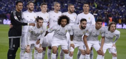 Equipo titular del Real Madrid que ha actuado en las últimas jornadas.  Archivo 1fdb0b87950b7