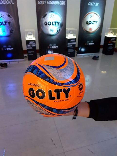 Imagen del nuevo balón Golty. Cortesía a86ac0733b40f
