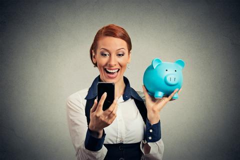 El celular puede ser una herramienta para el ahorro en las cuentas diarias.
