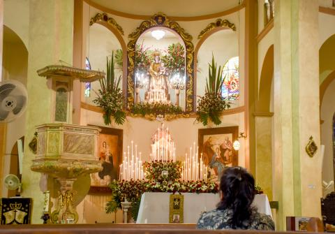 Así se vive en Barranquilla el día de la Virgen del Carmen  a1976852e8f29