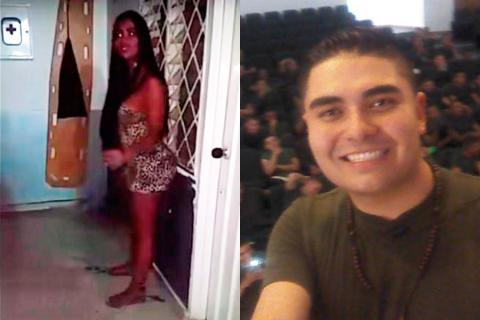 En Video Expolicia Youtuber Arremete Contra Modelo Caleña Que