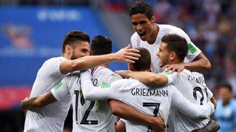 Francia es el primer semifinalista de Rusia 2018  venció 2-0 a ... 322d2f007834f