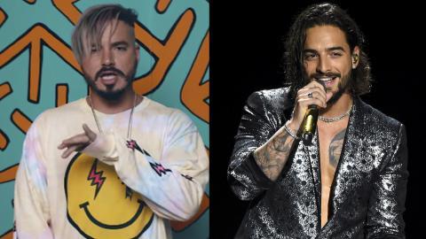 a0833b645540 J Balvin y Maluma brillaron en los MTV Awards 2018 | El Heraldo