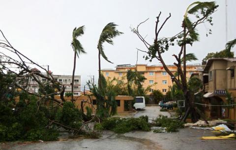 3a5be36f1 A su paso por la isla de Puerto Rico el huracán María causó grandes  desastres. AFP