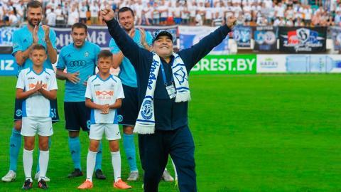 57d574bc5179e Diego Armando Maradona. nuevo técnico del equipo de fútbol de Sinaloa. AFP