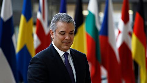 Iván Duque Márquez, presidente de Colombia.