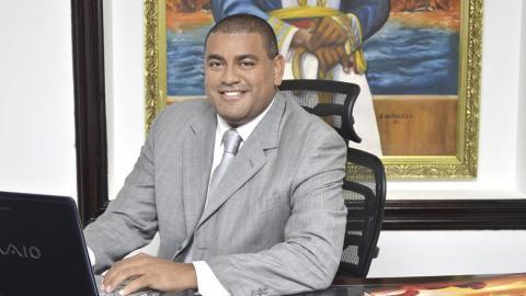 Wilson Rojas Vanegas, gobernador encargado de La Guajira desde el pasado 13 de noviembre de 2018.