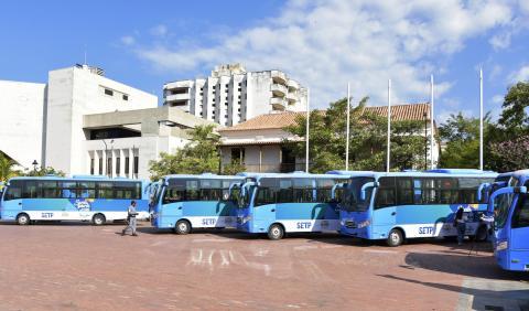 Llegaron a Santa Marta 20 buses con aire acondicionado  230e253ebab
