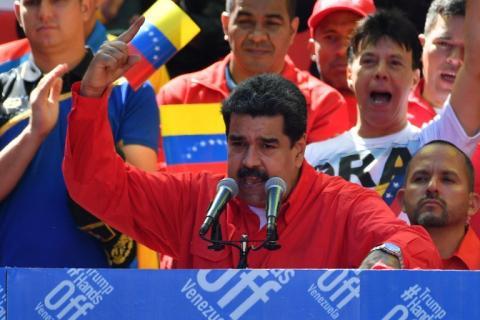 Maduro rompió relaciones diplomáticas con el gobierno