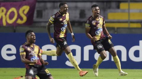Tolima vs Wilstermann, Resumen del partido, Copa Libertadores