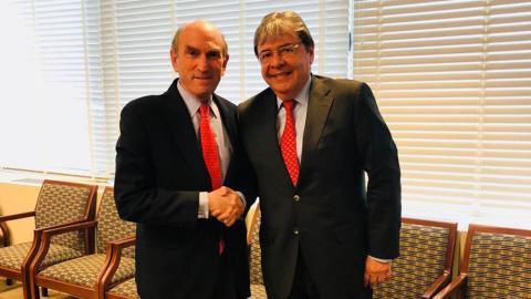 Trujillo se reunió con Elliot Abrams para discutir la crisis venezolana