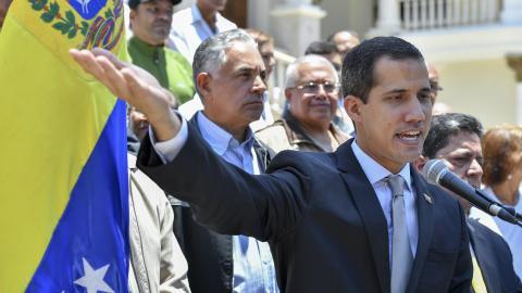 Pence solicita a la ONU reconocer a Guaidó como presidente de Venezuela