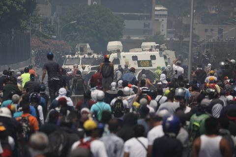 Postura de Rusia por el levantamiento militar en Venezuela