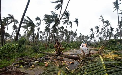 Alerta: ciclón amenaza con arrasar el este de la India