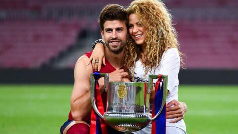 El tierno mensaje de Shakira a Piqué y el Barcelona