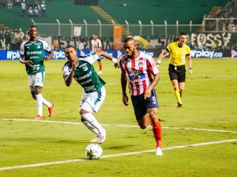 Junior derrotó al Deportivo Cali en el estadio Palmaseca