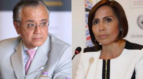 Alexis Mera y María De los Ángeles Duarte, detenidos