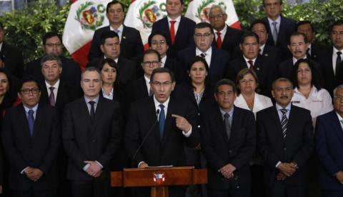 Vizcarra: demostraré mi correcta participación en la función pública ante Fiscalía
