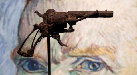 Este es el revolver con el que se habría suicidado Van Gogh