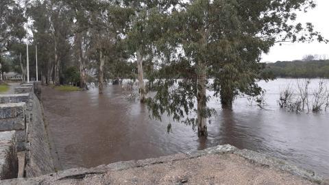 Uruguay bajo alerta climática por fuertes lluvias e inundaciones
