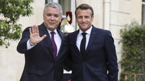 Colombia y Francia firman historico acuerdo medioambiental